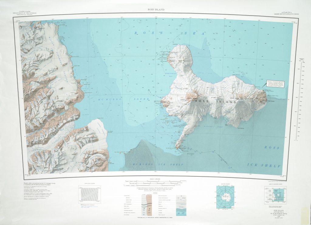 Ross Island 1:250,000 Topographic Reconnaissance Series (USGS)