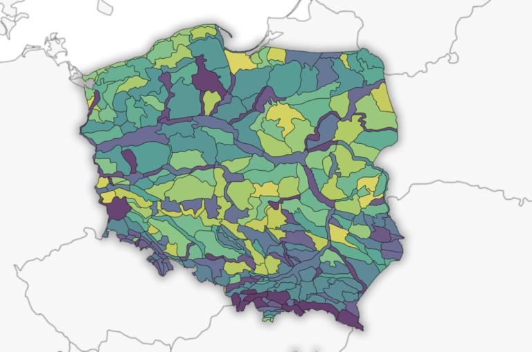 Poland GIS Datasets GitHub Project